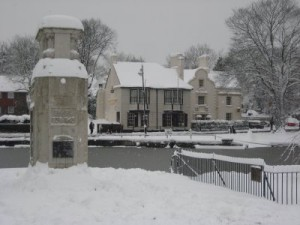Carshalton Ponds in the Snow