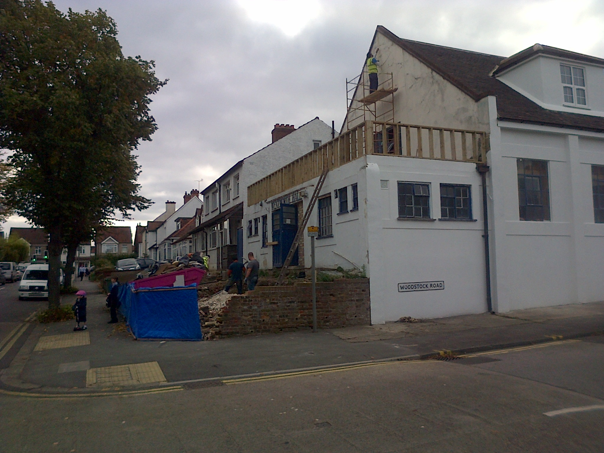 Wentworth Hall Progress Photo Carshalton Central Ward