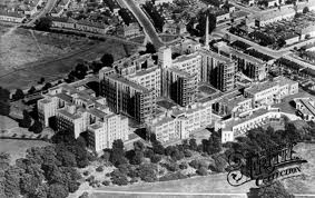Aerial Shot of St. Helier Hospital