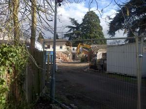 The Demolition Crew get to Work!