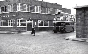 Carshalton Garage in Westmead Road about 50 years ago....