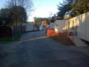 Cedar Close entrance from Salisbury Road