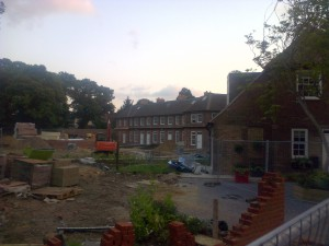 Rear View from The Park, Carshalton