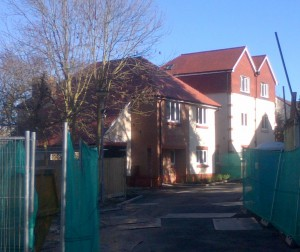 Cedar Close, off Salisbury Road, Carshalton nearing practical completion