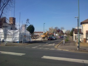 And another view looking down Kingsley Avenue from Westmead Road