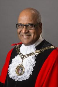 Sutton's Mayor Muhammad Sadiq